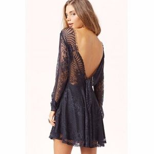 revolve For Love and Lemons Lolo Lace Dress XS